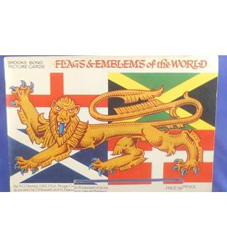 Brooke Bond Picture Cards - Flags & Emblems of the World