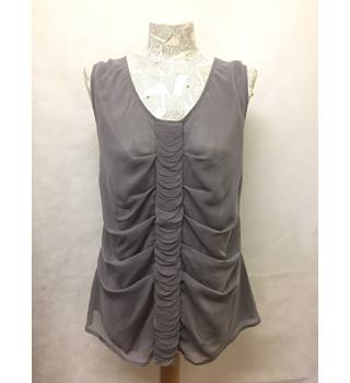 BNWT NEW VERO MODA - Size: 14 - Grey sleeveless top