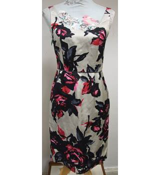 Monsoon Floral Dress Monsoon - Size: 8 - Multi-coloured - Cocktail dress