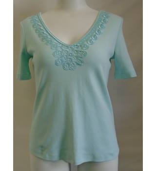 REDUCED M&S - Size: 8 - Light Blue - Top