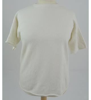 Stefanel Size Small Colour White Top