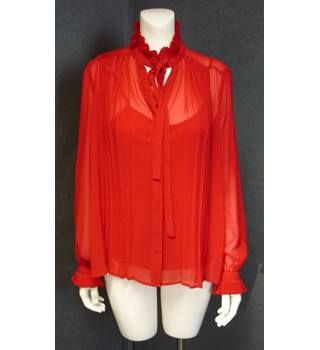 BNWT Per Una - Size: 10 - Red - Blouse