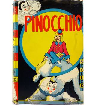 Pinocchio by C Collodi, Louise Beaujon  1939
