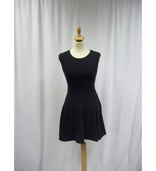 Topshop - Size: 10 - Black - Short Dress
