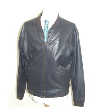 Marc Jacobs Mens Black Soft Leather Jacket Marc Jacobs - Size: L Indie Rock Boho DESIGNER