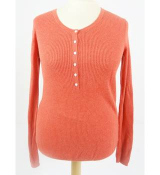 GAP Size M Burnt Orange Long Sleeved T Shirt