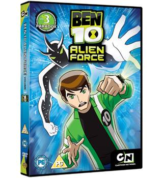 BEN 10 - ALIEN FORCE VOL. 3 PARADOX PG