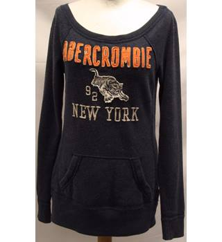 Abercrombie and Fitch - Size: XS - Blue - Sweatshirt