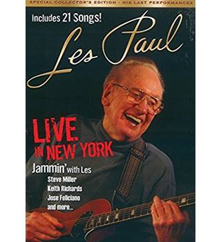 Les Paul Live in New York Non-classified
