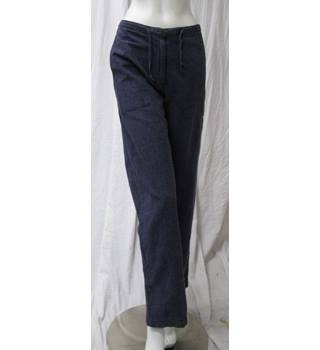"Cotton and Hemp Trousers Size 14 Ethical Natural Nomads - Size: 30"" - Blue"