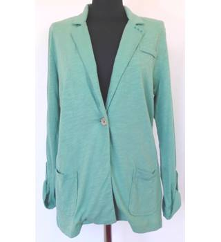 As New Mantaray Unstructured 100% Cotton Jacket Size 14
