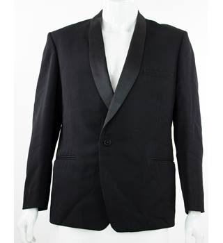 "Burton - Size: 44"" - Black - Single Breasted Dinner Jacket"