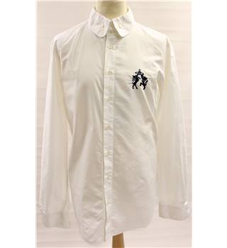 Vivienne Westwood Size XL (brand size VI) White Long Sleeved Shirt