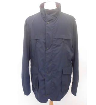 NWOT M&S Collection size XXXL navy blue trench storm-wear coat