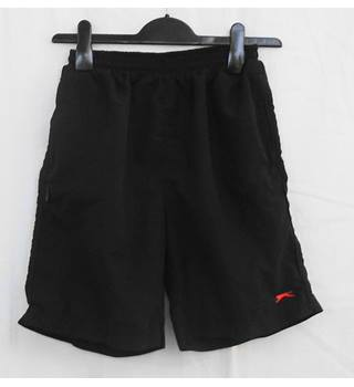 Slazenger black shorts Age 13