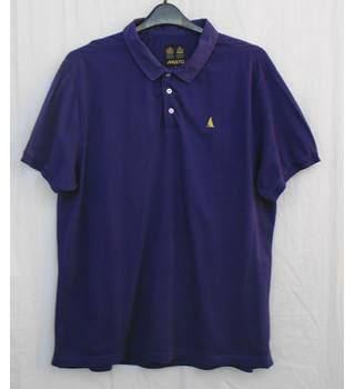 Musto purple polo shirt Size XL