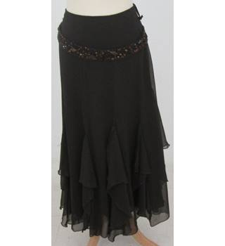 NWOT Per Una, size 12, brown floaty skirt
