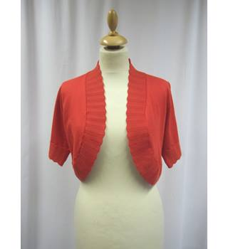 thesis - Size: L - Orange - Shurg/Bolero/ Cardigan