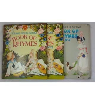 Deans Gold Medal Book of Rhymes Nos 1-3