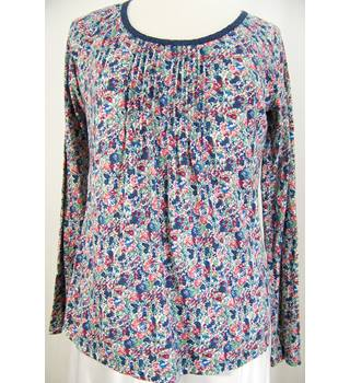 Fat Face - Size: 12 - Long-sleeved - Floral Print Top
