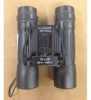Binoculars 10x25. Goldline Optical.