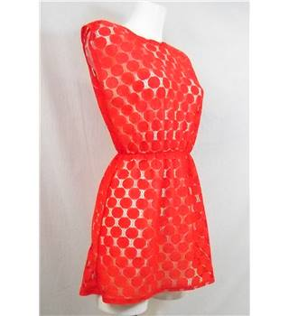 Chelsea Girl Size 8 Red Mini Dress
