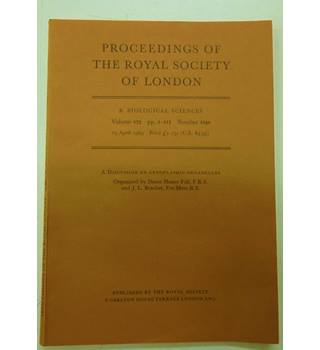 """Proceedings of the Royal Society of London 15 April 1969"""