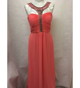 Jane Norman Jane Norman - Size: 12 - Orange - Evening dress