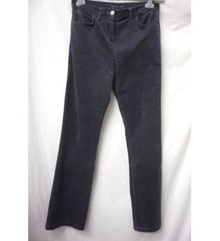 M&S Collection  Size 10  Slate Grey Corduroy Trousers