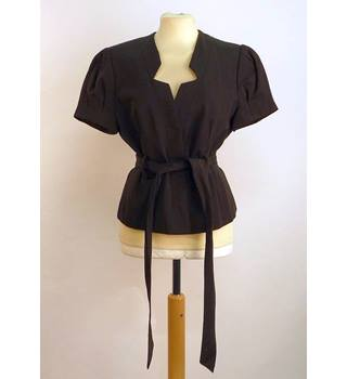 Et Vous BNWT Black Ladies Short Jacket Size 12 Et Vous - Size: 12 - Black - Smart jacket / coat