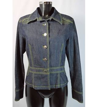 Betty Barclay Denim Jacket - Blue - Size 12 Betty Barclay - Size: 12 - Blue - Casual jacket / coat