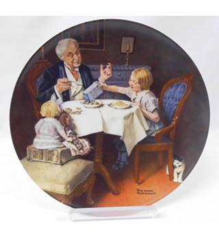 'The Gourmet' collectable plate limited edition with certificate