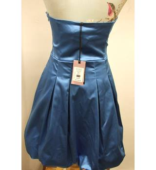 BNWT Pretty Blue Coast Suzette Party Dress with Bubble hem (size 10) Coast - Size: 10 - Blue