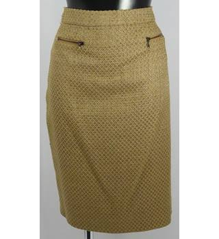 "M&S Collection Skirt -  Caramel - Size 14 (waist 31"") M&S Marks & Spencer - Size: 14 - Beige"