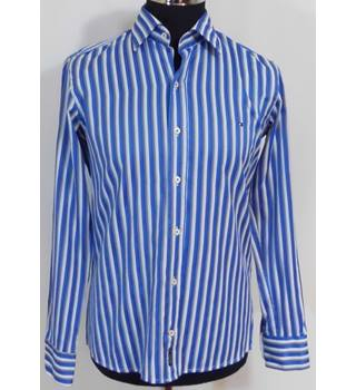 Tommy Hilfiger Striped 100% Cotton Shirt.