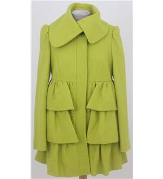 BNWT Dorothy Perkins size: 8 lime yellow winter coat