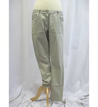 Silvian Heach - Size: 12 - Stone Coloured - Trousers