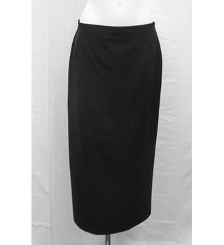Klass Collection long black pencil skirt Size 16