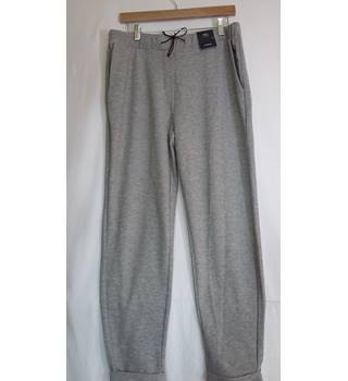M and S lounge pants size 14 Tapered leg BNWT grey M&S Marks & Spencer - Size: L - Grey - Sweat pants