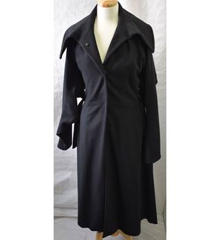 Stella McCartney long black coat size 10 (46)
