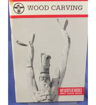 Boy Scouts of America Merit Badge Series No.3315 - Wood Carving