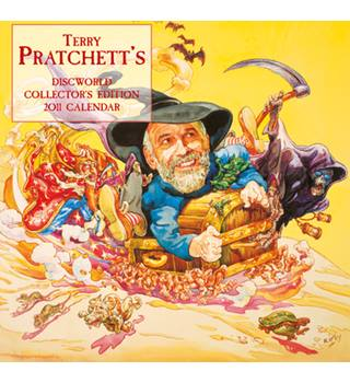 Terry Pratchett's Discworld Collector's Edition Calendar 2011 - new and sealed