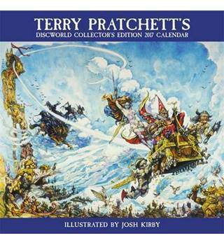 Terry Pratchett's Discworld Collectors' Edition Calendar 2017 - brand new and sealed