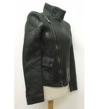 DIESEL - Size: 6 - Black - Smart jacket-Leather