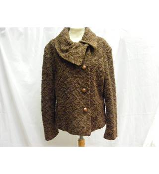 Per Una - Size: 12 - Brown/Speckled - Jacket