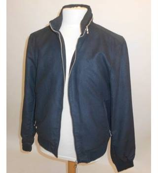 M&S Collection Casual Jacket  with zip hood in collar M&S Marks & Spencer - Size: L - Blue - Casual jacket / coat