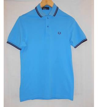 Men's Fred Perry Polo shirt - XS Fred Perry - Size: XS - Blue - Polo shirt