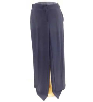 M&S Marks & Spencer - Size: L - Blue - Trousers