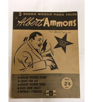 5 Boogie Woogie Piano Solos by Albert Ammons