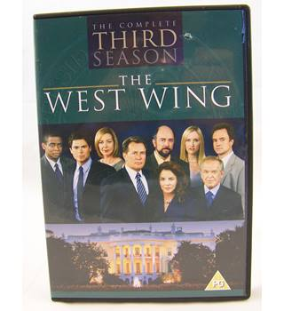 THE WEST WING THE COMPLETE THIRD SEASON. CERT 15 PG